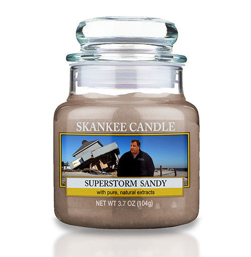 Superstorm Sandy Candle