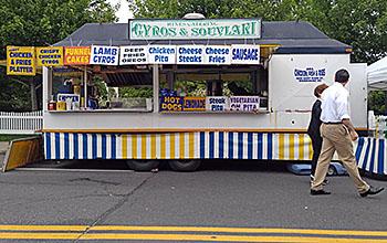 Street Fair Food Stand